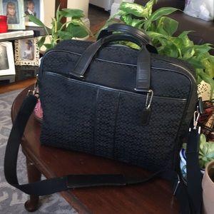 Coach briefcase/computer work/ school bag
